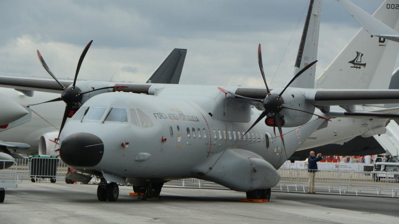 Airbus C95 de la Fuerza Aérea de Portugal.