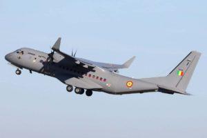 El primer Airbus C295 de Mali.