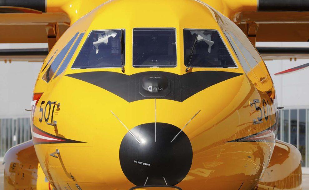 Los C295 canadienses cuentan con una importante serie de cambios en equipos y aerodinámica con respecto a otros C295.
