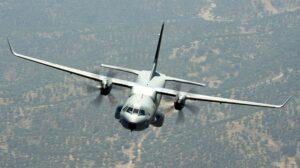Airbus C295 en vuelo.