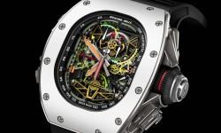 El nuevo reloj de Richard Mille rinde homenaje a los aviones de Airbus.