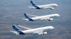La división de aviones comerciales de Airbus supone el 76 por ciento de los ingresos del grupo.