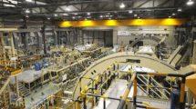 Instalaciones de producción de la Sección 19 del A380 en la factoría de Airbus en Getafe.