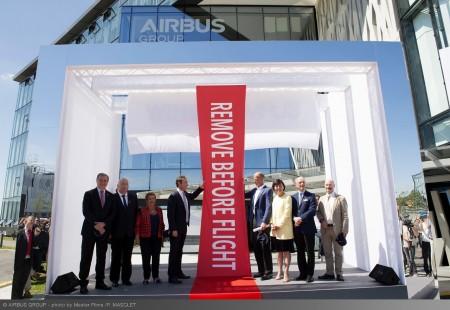 Inauguración de la nueva sede de Airbus Group