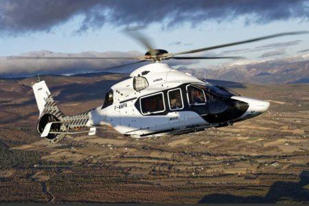 Uno de los prototipos del Airbus Helicopters H160.