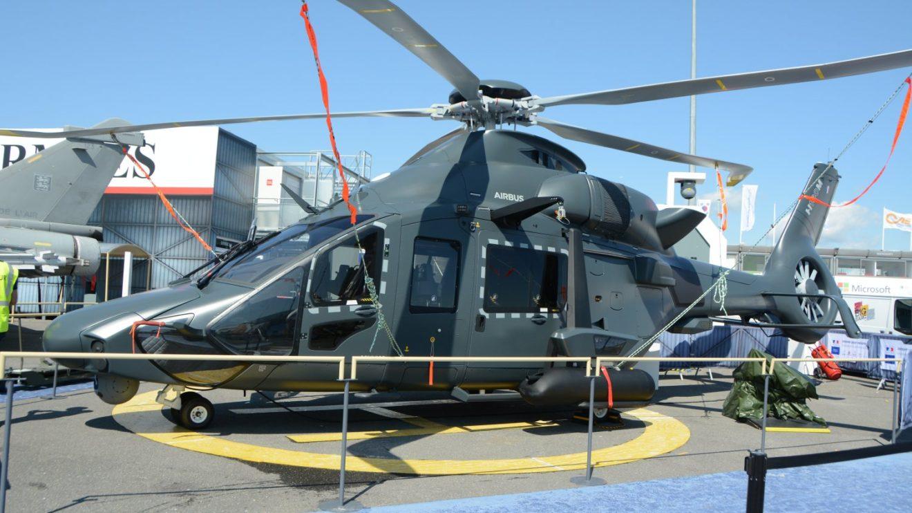 Maqueta a escala 1:1 del nuevo H160M para las fuerzas armadas de Fancia.