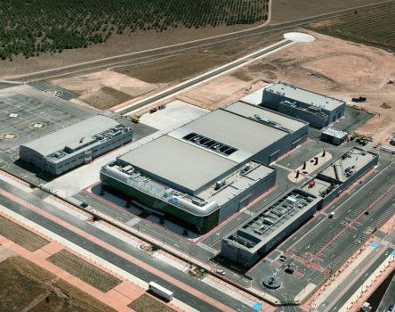Vista aérea de la factoría de Airbus Heliopters en Albacete.