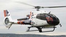 El EC130 usado por Airbus Helicopters para las pruebas en vuelo de su Flightlab.