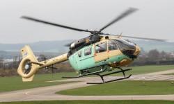 El EC 645 T2 es la tercera versión de este helicóptero en su variante con motores Turbomeca Arriel.