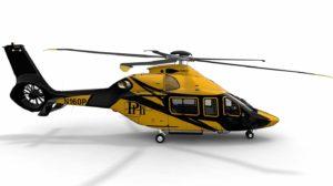 Airbus Helicopters H160 con los colores de PHI, empresa que operará el modelo para la petrolera Shell.