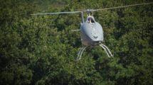 El Airbus Helicopters VSR700 durante su primer vuelo autonomo libre.