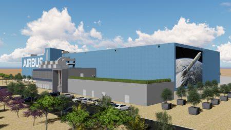 La nueva factoría de Getafe de la división espacial de Airbus sustituirá además en unos pocos años a las  actuales instalaciones junto al aeropuerto de Madrid-Barajas.