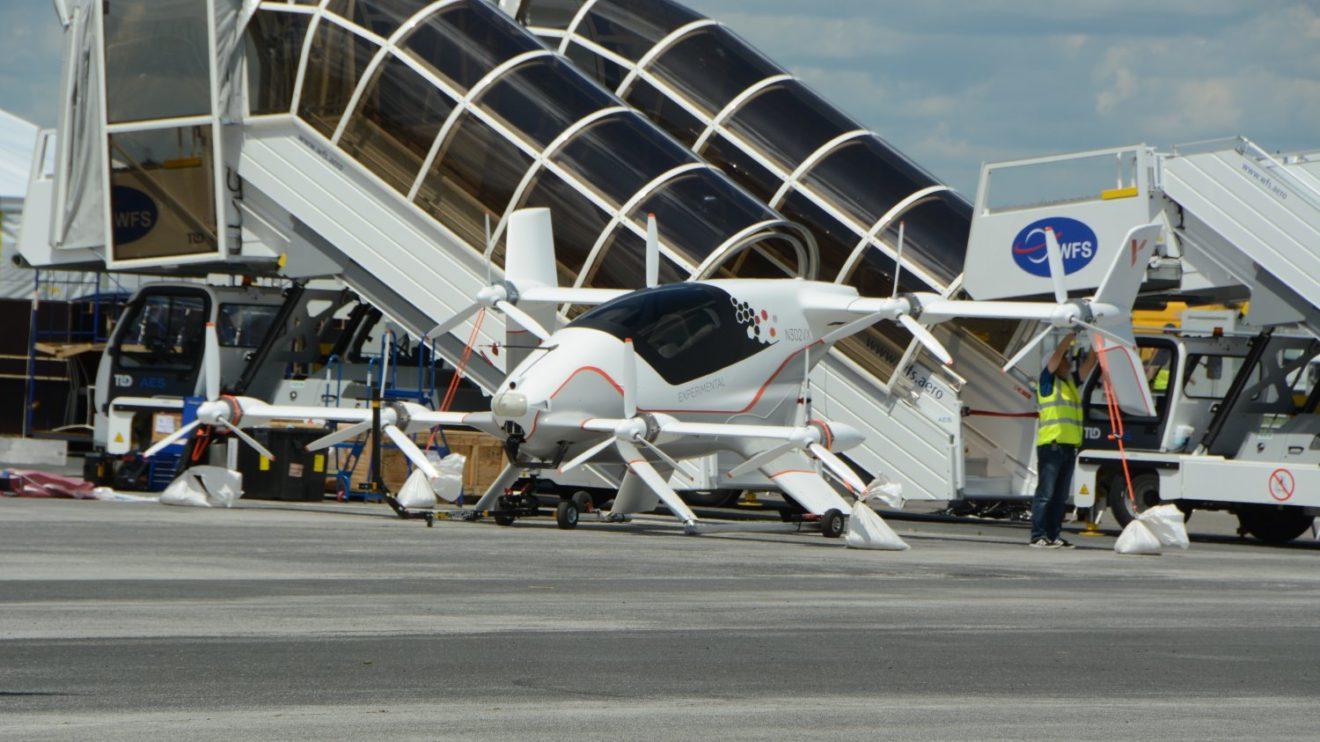 Valhana, propuesta de AIrbus par aun taxi aéreo autónomo.