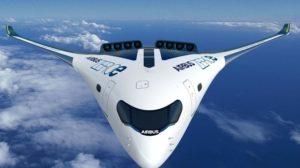 Uno de los proyectos de Airbus de aviones cero emisiones.