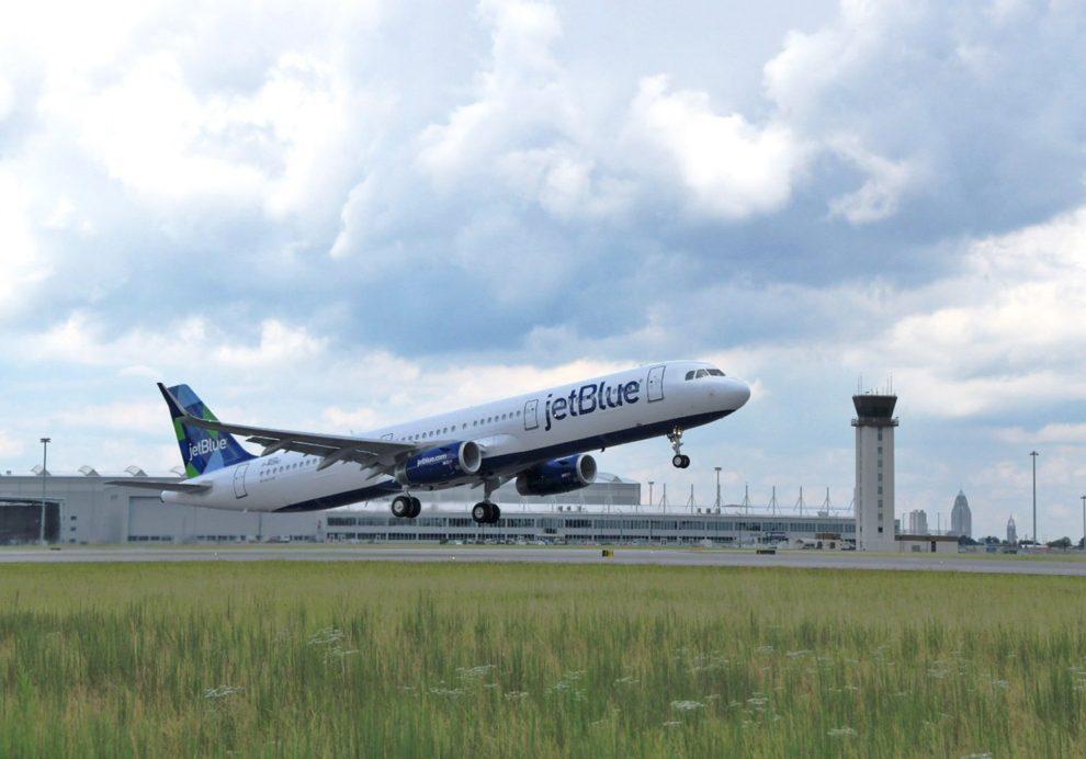 Jetblue tiene su base principal en el aeropuerto JFK de Nueva York.