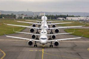 Airebus vende solo nueve aviones en el mes de abril de 2020.