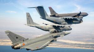 Airbus es la principal tractora en España en la aeronáutica de defensa.