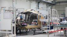 Cadena de montaje del Airbus Helicopters H135.