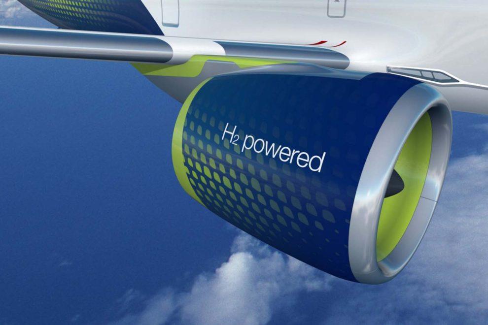 Airbus busca liderar el desarrollo de un transporte aéreo sostenible basado en el hidrógeno.