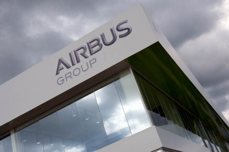 Chalet de Airbus Group en Farnborough