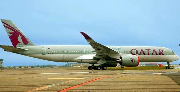 Airbus A350-900 de Qatar Airways
