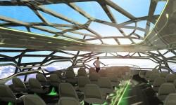 El diseño se basa en el Concept Plane presentado en 2009.