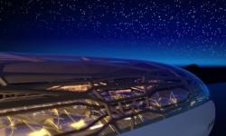 Así se vería el avión desde fuera con su cubierta transparente