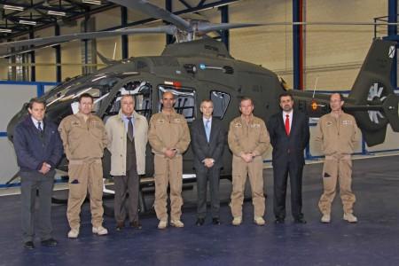 Primera entrega de Airbus Helicópters