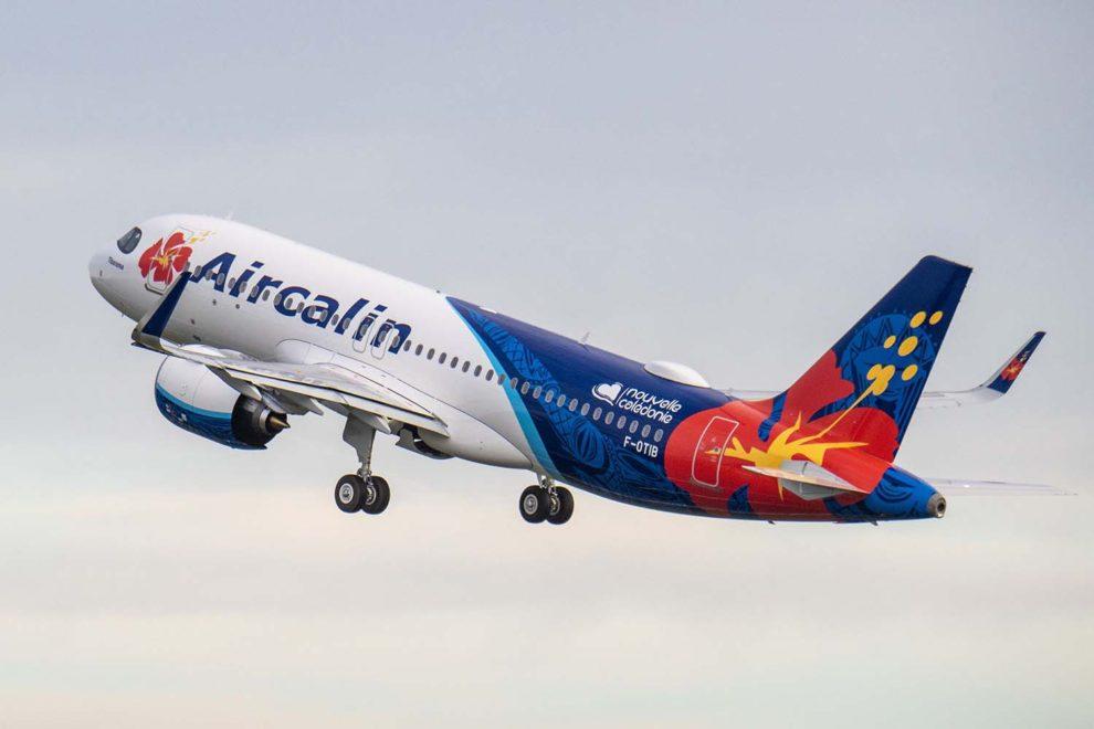 Entre las entregas de Airbus en 2020 estuvo el primer A320neo para Aircalim, el 28 de diciembre.
