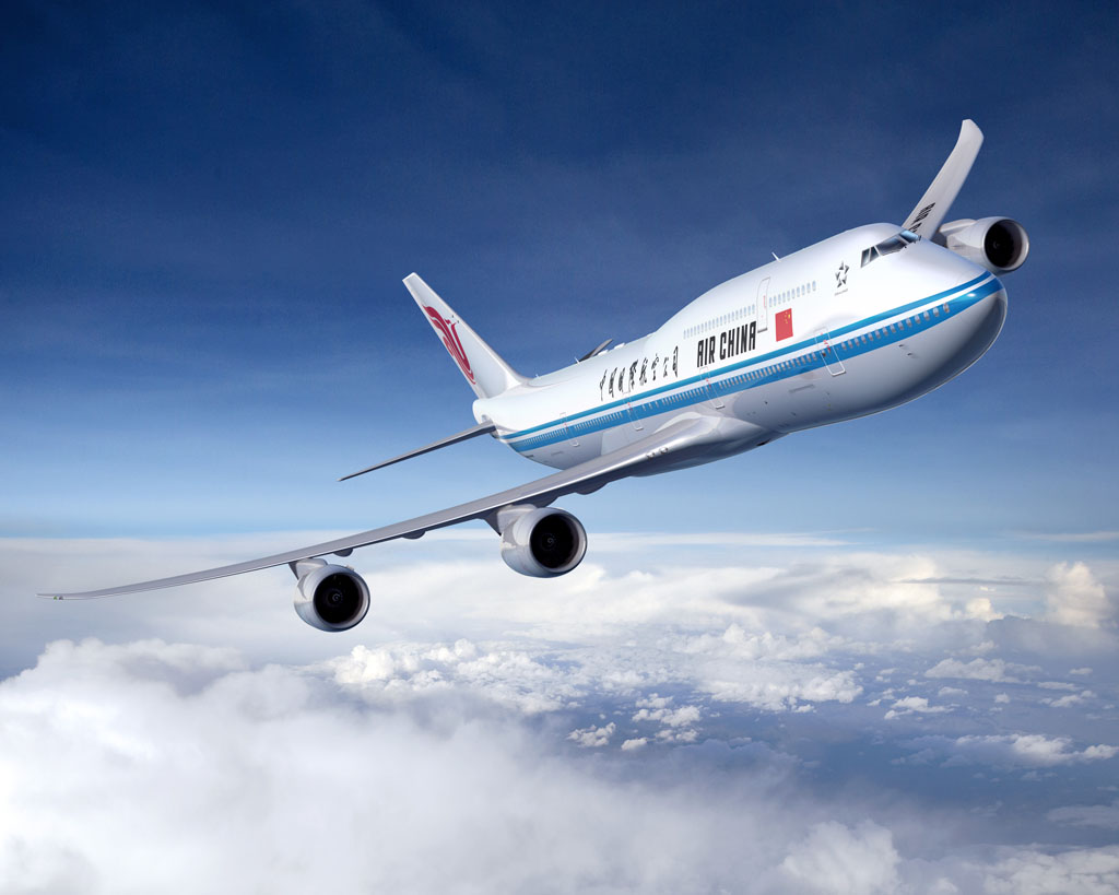 Boeing 747-8I de Air China