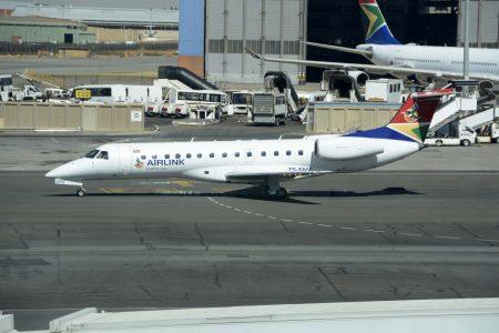 Embraer ERJ135 de Airlink.