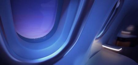 El nuevo diseño de los paneles de pared permite ganar más de 2,5 cm en el ancho de la cabina para aumentar el confort.
