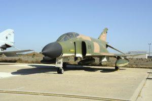 El F-4C C12-55 es uno de los aviones que el Ejército del Aire ha reactivado y que a partir de 2020 serán enviados a Canarias a sustituir a los F/A-18 del Ala 46.