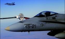 Por primera vez los F/A-18 españoles realizarán las misiones de patrulla aérea en el Báltico.