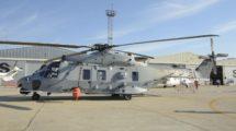 Airbus Helicopters desplazó desde Albacete su NH90 de desarrollo que en estos momentos se está usando para la certificación de los equipos para la versión del Ejército del Aire como la grúa externa de rescate o la torreta electroóptica.