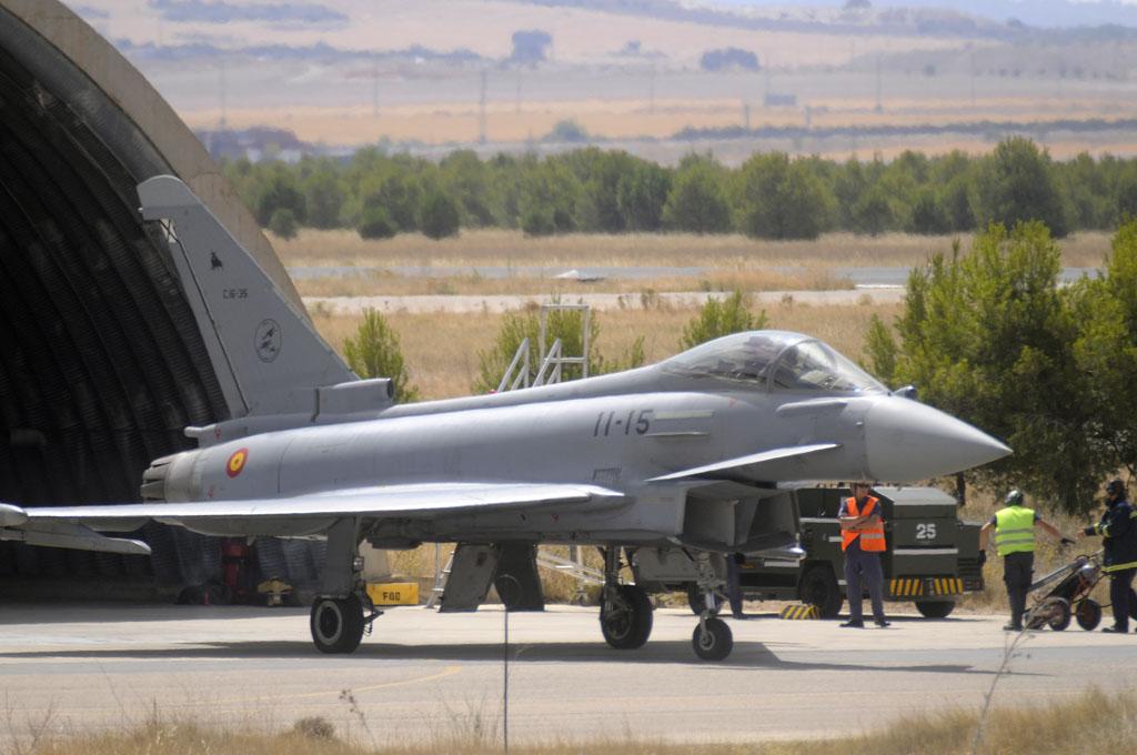 Eurofighter en Los Llanos
