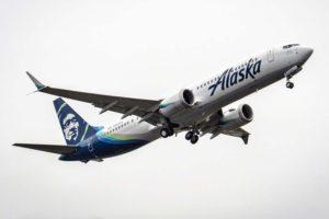 Dos de los 21 Boeing 737 MAX entregados en enero lo fueron a Alaska Airlines.