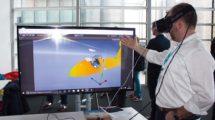 Demostrador de realidad virtual desarrollado por Altran,.