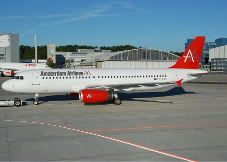 Airbus A320 de Amsterdam Airlines