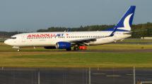 Anadoluet cuenta actualmente con una flota de 40 Boeing 737-800.