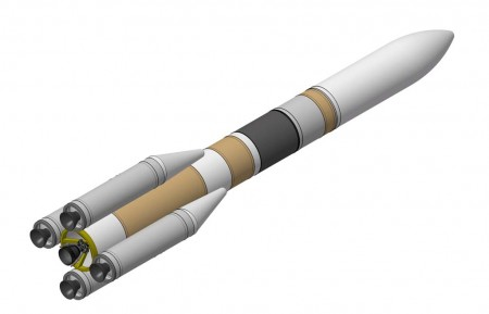 El futuro Airbus Safran Launchers Ariane 6.