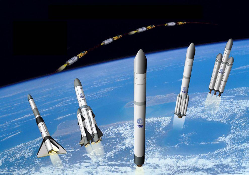 Airbus estudia el desarrollo de otra variante del Ariane 6, esta vez capaz de transportar una cápsula con astronáutas.