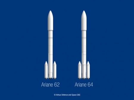Dos versiones del nuevo Ariane 6