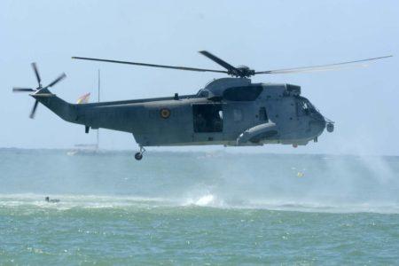 Los H-3D de la Armada se usan ya sólo para misiones de transporte o para infiltración.