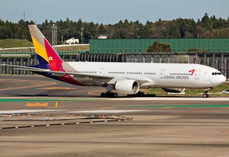 Boeing 777-200ER HL7500.