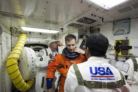 Los astronautas están ya listos para la misión