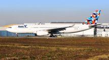 EL primer Airbus A330 de Aura Airlines