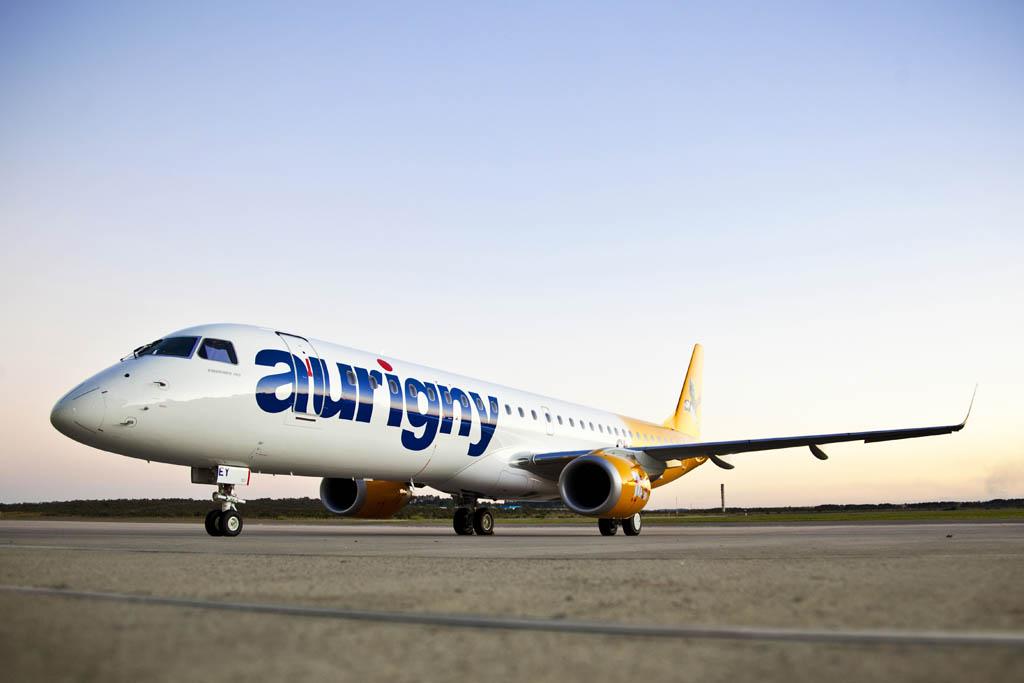 Embraer E195 de Aurigny