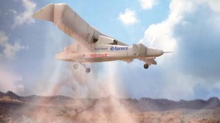 Alas y planos canard pivotan para dirigir el empuje de las hélices hacia abajo para los despegues y aterrizajes verticales.