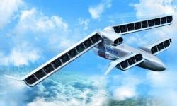 Aspecto del LightningStrike con sus hélices encastradas en alas y planos canard.